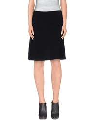 1 One Knee Length Skirts Black