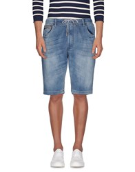 Yes Zee By Essenza Denim Bermudas Blue