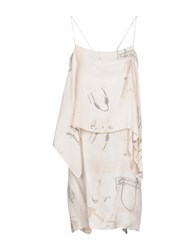 Collection Privee Short Dresses Ivory