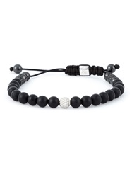 Shamballa Jewels Beaded Bracelet Black