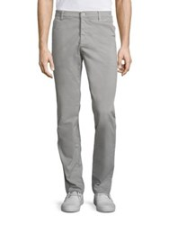 Ag Jeans Suede Brushed Twill Pants Grey