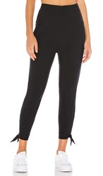 Beyond Yoga Keep It Lightweight And Easy Sweatpant In Black. Darkest Night