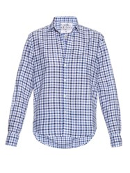Frank And Eileen Gingham Cotton Chambray Shirt