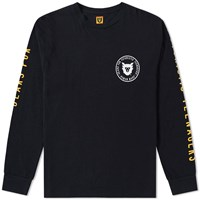 Human Made Long Sleeve Arm Print Tee Black