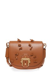 Paula Cademartori Petite Babeth Knot Bag Brown