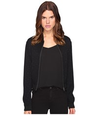 Just Cavalli Dolly Parton Zip Up Jacket Black