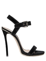 Dsquared 120Mm Velvet And Suede Sandals