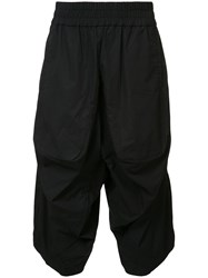 Private Stock Cropped Trousers Black