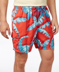 Tommy Bahama Men's Big And Tall Naples Tropical Print Swimsuit