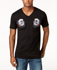 Inc International Concepts Men's Graphic Print T Shirt Created For Macy's Black