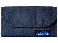 Kavu Big Spender Denim Wallet Handbags Blue