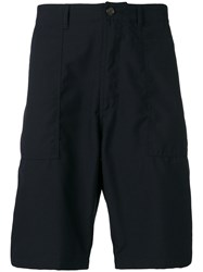 Universal Works Classic Knee Length Shorts Blue