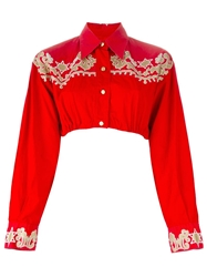Jean Paul Gaultier Vintage Bolero Jacket Red