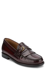 G.H. Bass Men's And Co. Wakeley Kiltie Loafer Burgundy
