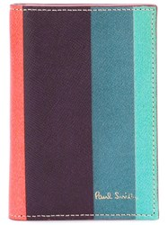 Paul Smith Striped Card Holder
