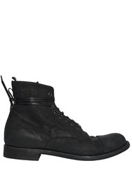 Officine Creative Leather Lace Up Boots