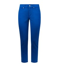Escada Sport Linda Capri Jeans Female Blue
