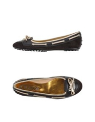 Tod's Ballet Flats Dark Brown