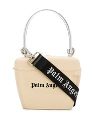 Palm Angels Small Logo Tote Bag Neutrals