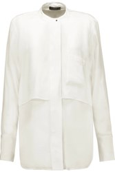 Belstaff Lissa Layered Silk Blouse White