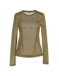 Laura Urbinati Sweaters Gold
