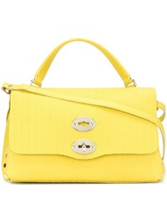 Zanellato Clasp Closure Tote Bag Yellow And Orange