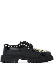 Dolce And Gabbana Trekking Studded Shoes Black