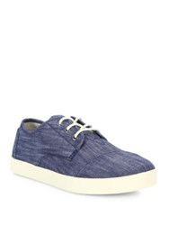 Toms Paseo Denim Chambray Sneakers