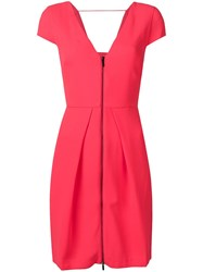 Armani Exchange Flamingos Cocktail Dress Pink