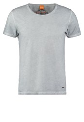 Boss Orange Tour Basic Tshirt Light Pastel Grey Light Grey