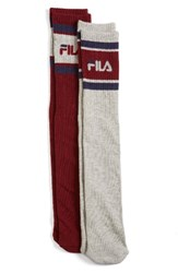Fila Women's 2 Pack Tube Socks