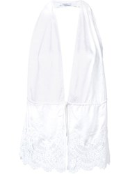 Givenchy Backless Top White