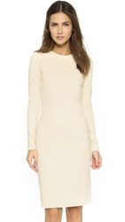 Susana Monaco Emma Long Sleeve Dress Champagne