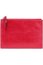 Iro Leather Pouch Crimson