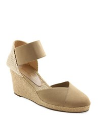 Andre Assous Anouka Espadrille Wedge Sandals Taupe