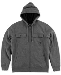 O'neill Men's Jetson Zip Up Hoodie Charcoal Heather