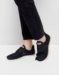 Le Coq Sportif Dynacomf Sneakers With Gold Detail Black