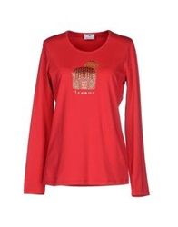 Braccialini T Shirts Red