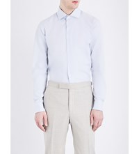 Richard James Contemporary Fit Cotton Shirt Grey