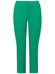 Phase Eight Betty Crop Trousers Green