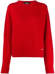 Dsquared2 Ribbed Knit Pullover