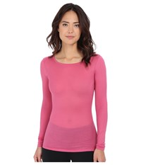 Hanro Ultralight Long Sleeve Top Very Berry Women's Clothing Pink
