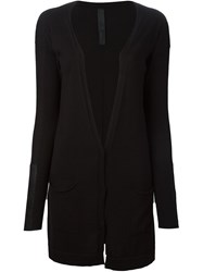 Ilaria Nistri Long Cardigan Black