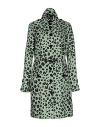 Moschino Cheap And Chic Moschino Cheapandchic Coats And Jackets Full Length Jackets Women Light Green