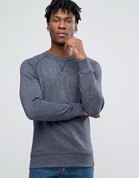 Esprit Crew Neck Sweat With Raglan Sleeve Navy 400