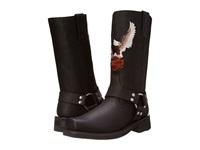 Harley Davidson Darren Black Men's Pull On Boots