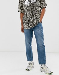 Cheap Monday In Law Slim Jeans In Mid Blue