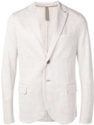Harris Wharf London Lightweight Classic Blazer Neutrals