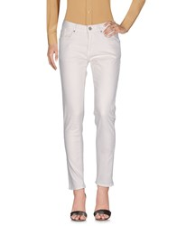 2W2m Casual Pants Ivory
