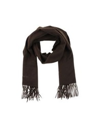 Timberland Oblong Scarves Dark Brown